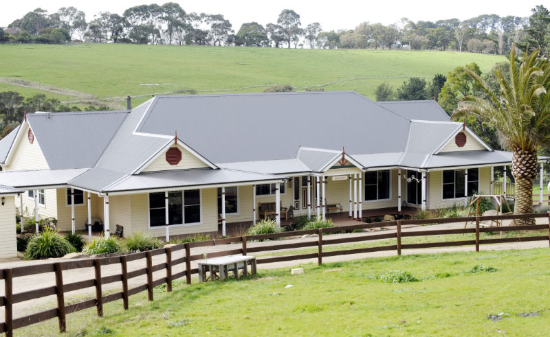Ranch style home designs australia castle home Homestead home designs